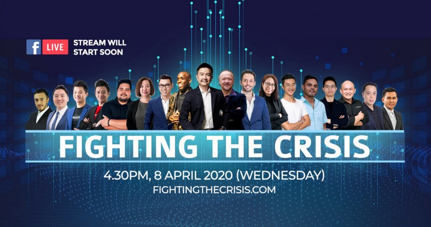 How to do Pre-Launching for a webinar — FIGHTING THE CRISIS by Vince Tan Case Studies